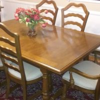 Dinning table and buffet server